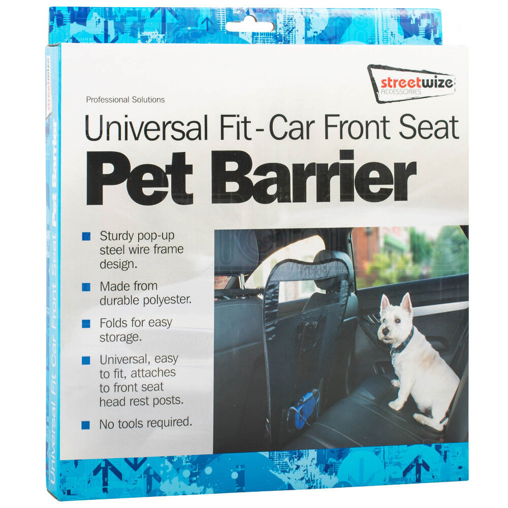 car interior front back seat pet dog safety protection barrier guard divider ebay. Black Bedroom Furniture Sets. Home Design Ideas