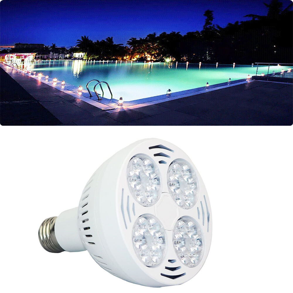 In Ground Above Ground Swimming Pool Led Light Underwater