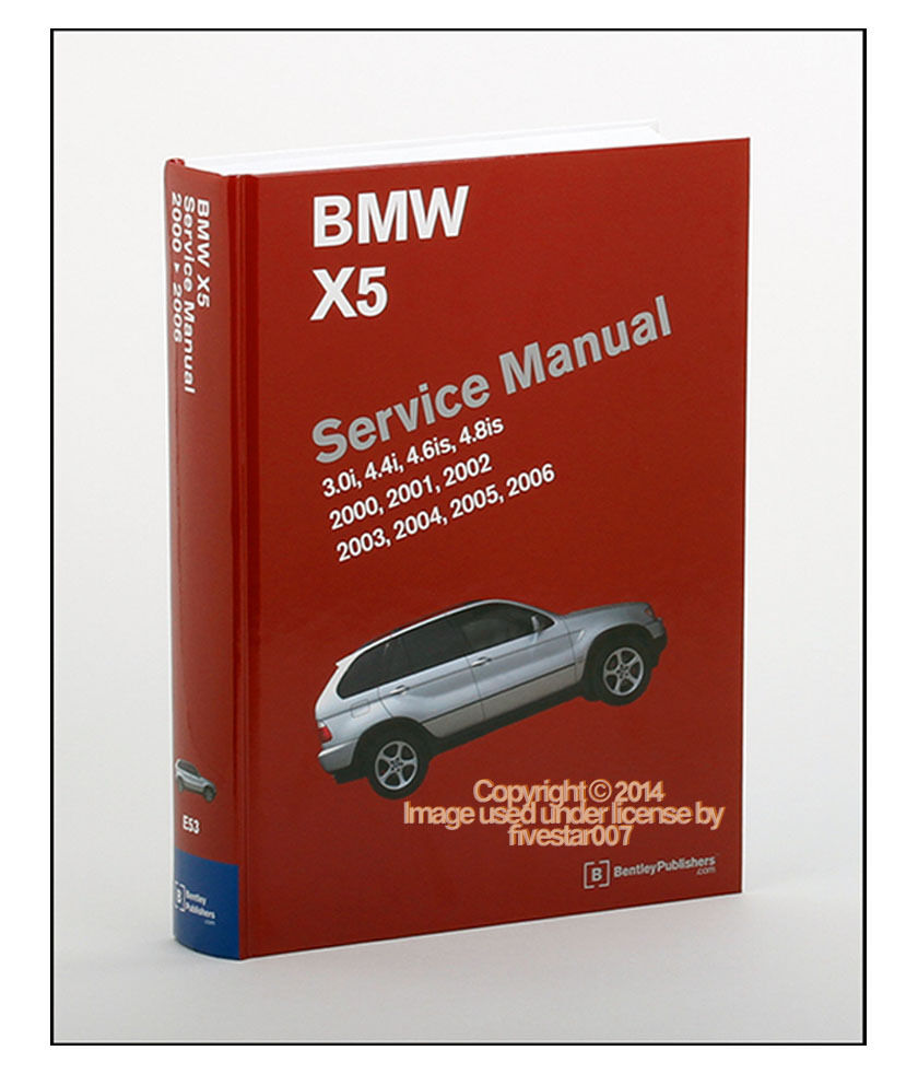 Bentley Diagram Repair Guide Service Manual for BMW x5 3.0i 4.4i 4.6is  4.8is e53 | eBay