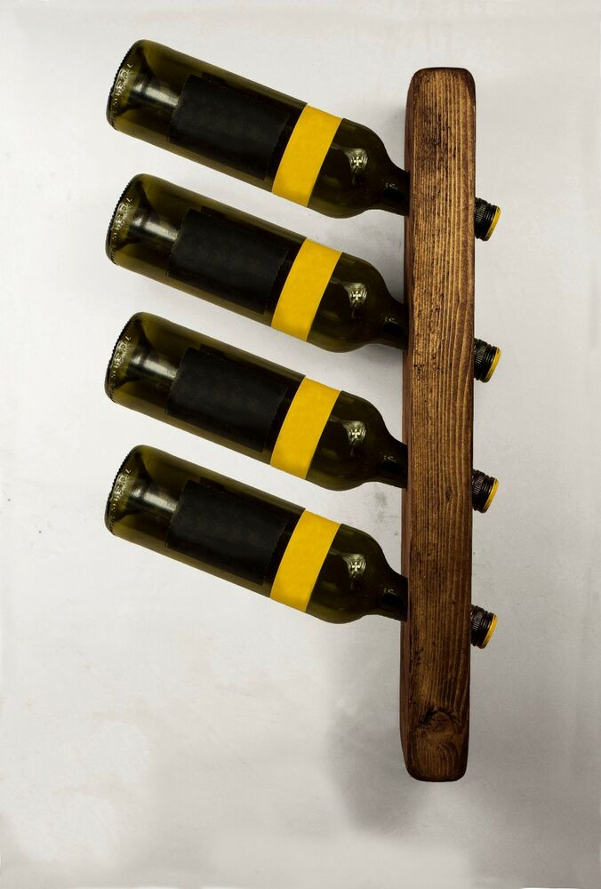 How To Buy Wall Mounted Wine Rack : Wooden Wine Bottle Holder Rack Wall Mounted Kitchen Restaurants Bars ...