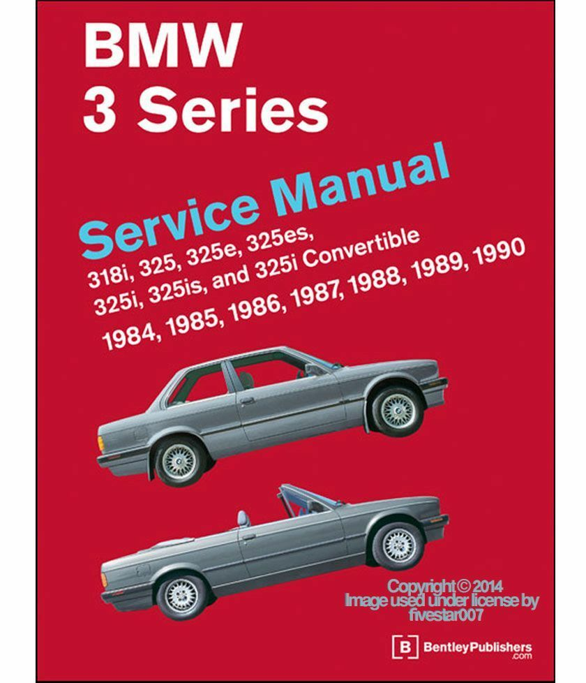 Bentley Diagram Repair Guide Service Manual for BMW 318i 325 325e 325i 325is  m3 | eBay