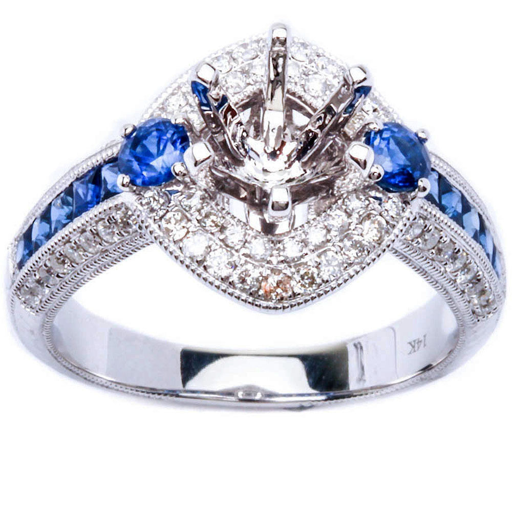 Ebay Blue Diamond Rings