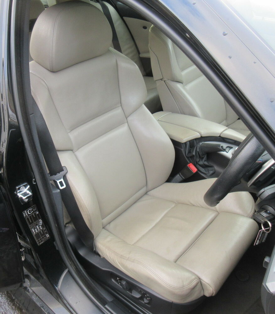 Genuine Used Cream 2006 E60 M5 Interior Seats For BMW 5