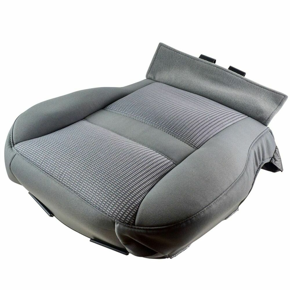 OEM 1FE931D5AA Seat Bottom Cushion Cover Gray Driver Left ...