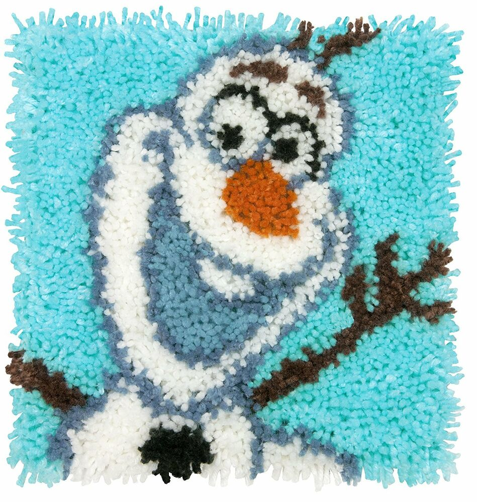 Disney Olaf Frozen Latch Hook Kit 12x12 Quot By Caron