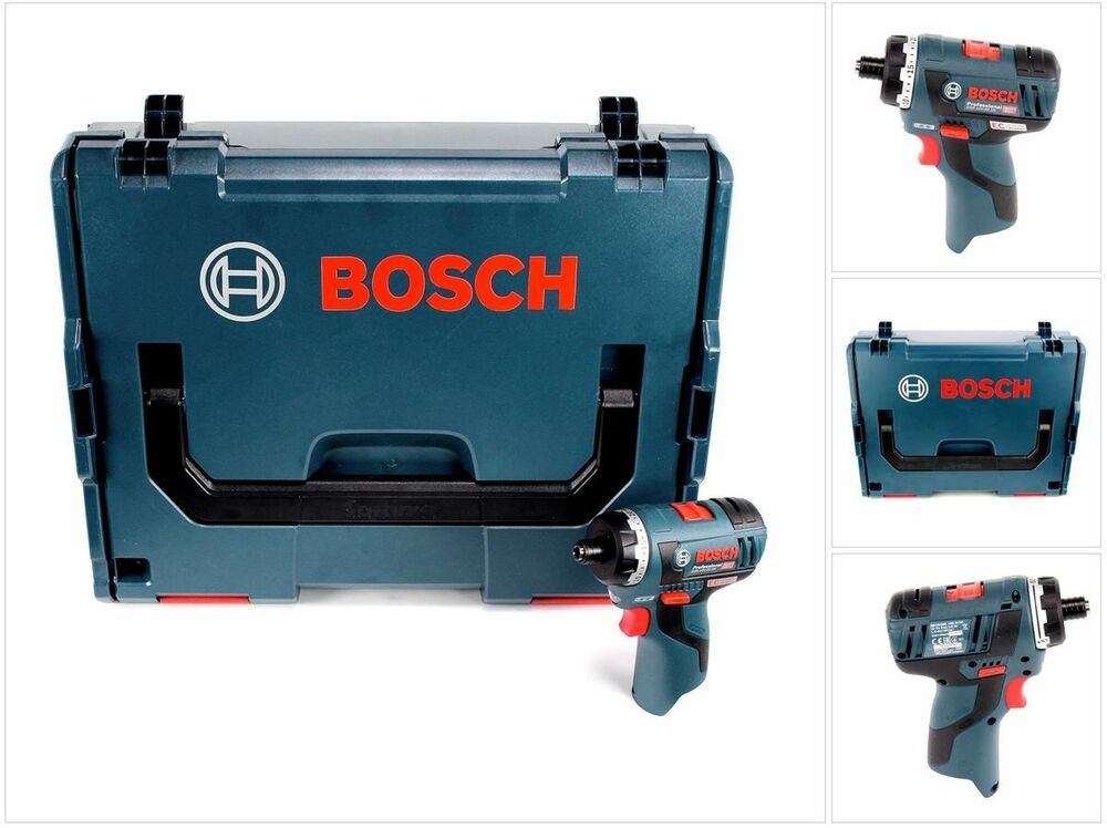 bosch gsr 12v 20 hx professional akku schrauber solo in l boxx 06019d4103 ebay. Black Bedroom Furniture Sets. Home Design Ideas