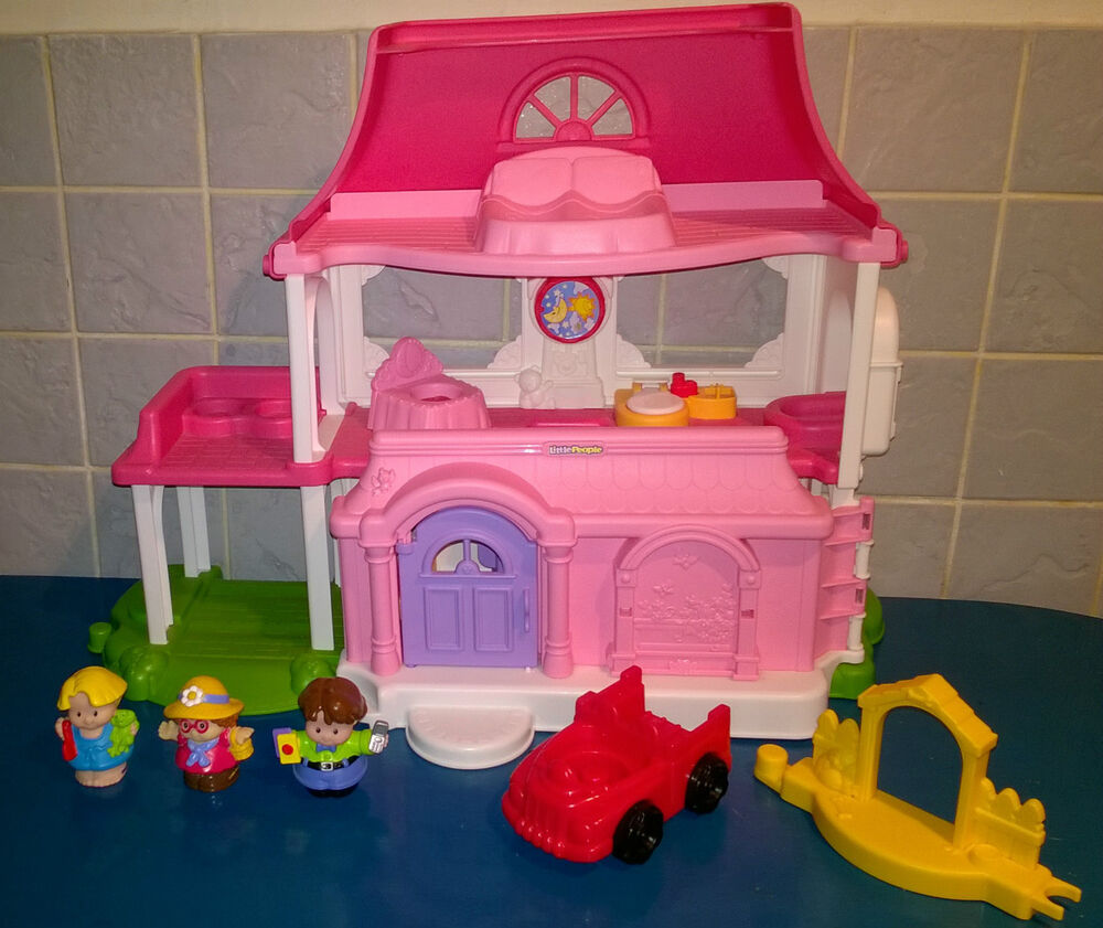 Fisher Price Little People Happy Sounds Home Dolls House ...