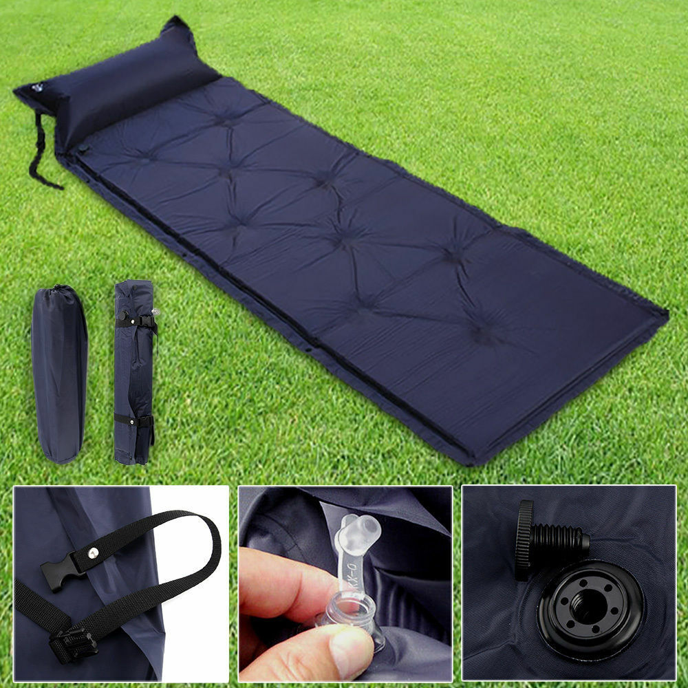 Inflatable Camping Mats Self Inflating Camping Roll Mat