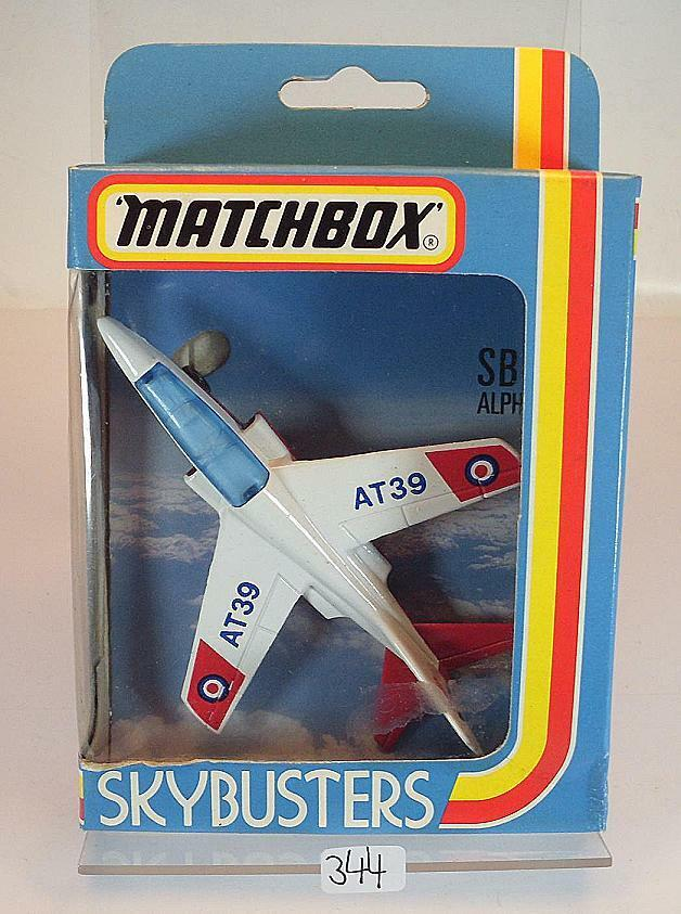 matchbox sky busters skybusters sb 11 alpha jet at39 ovp 344 ebay. Black Bedroom Furniture Sets. Home Design Ideas