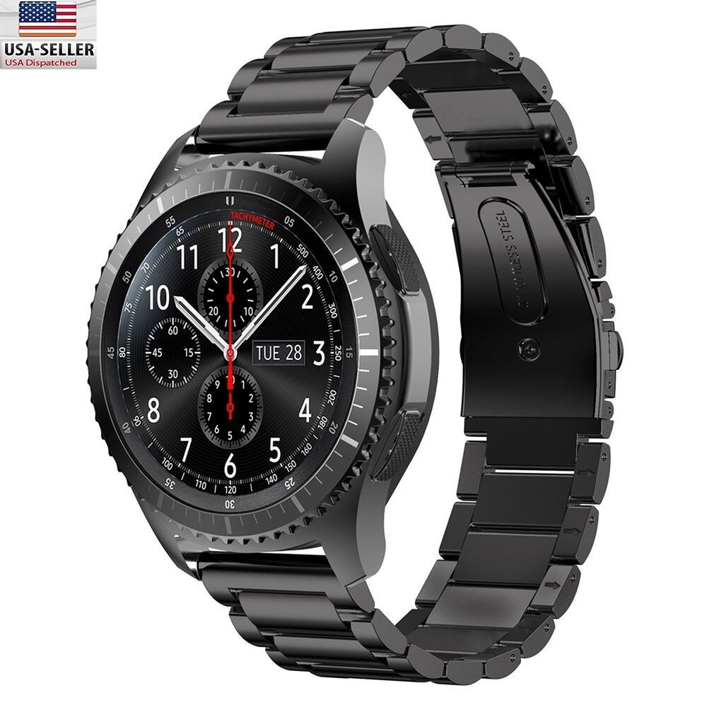 stainless steel watch band strap for samsung gear s3 frontier gear s3 classic ebay