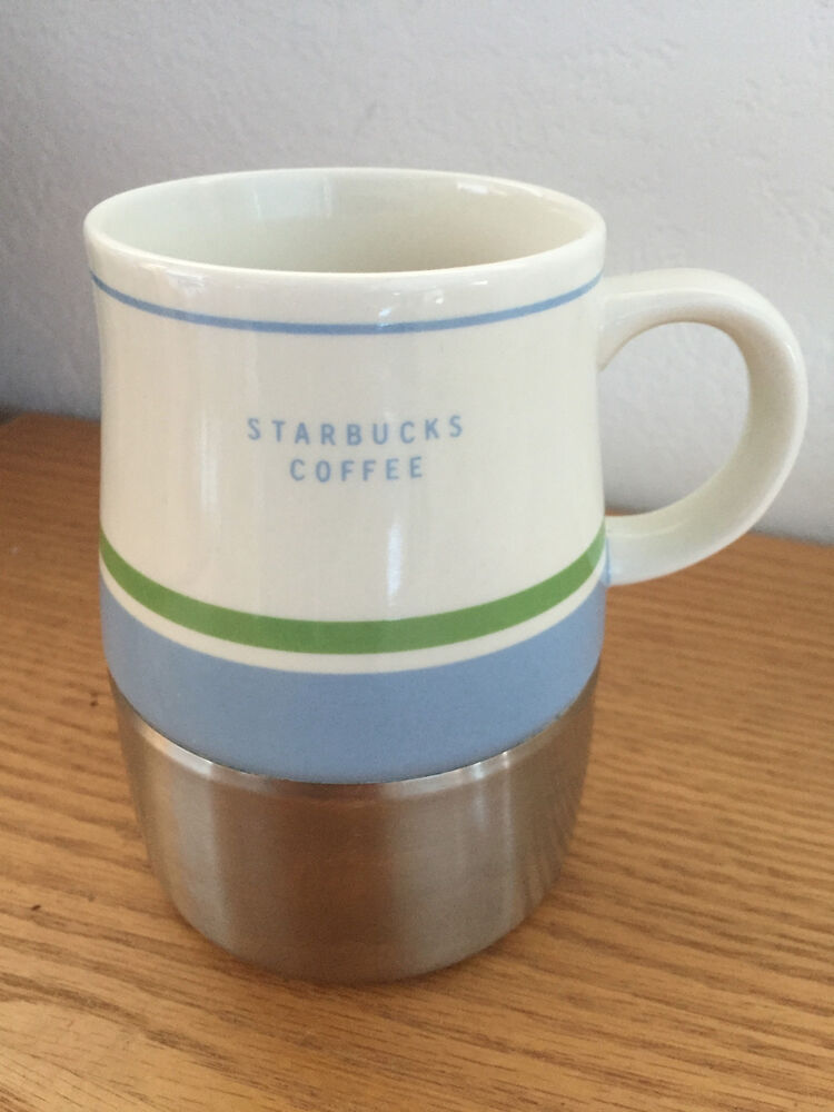 Starbucks Ceramic Amp Stainless Insulated Travel Coffee Mug