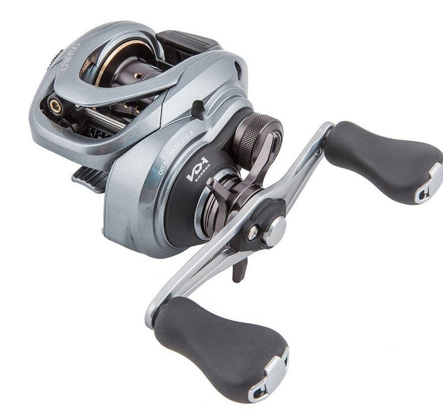 New 2017 shimano curado cu 71xg 8 2 1 baitcasting fishing for Left handed fishing reels