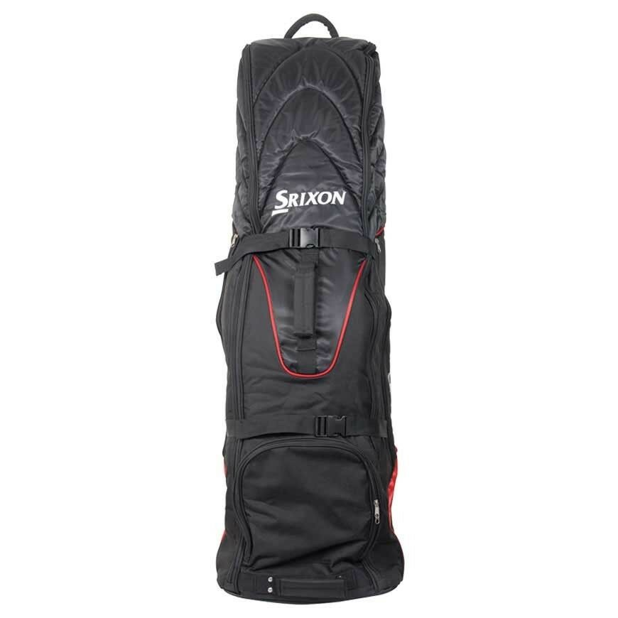 2bb4db42e5 Details about Srixon Golf Travel Cover 2017 With Wheels Airplane Cover Black  Red