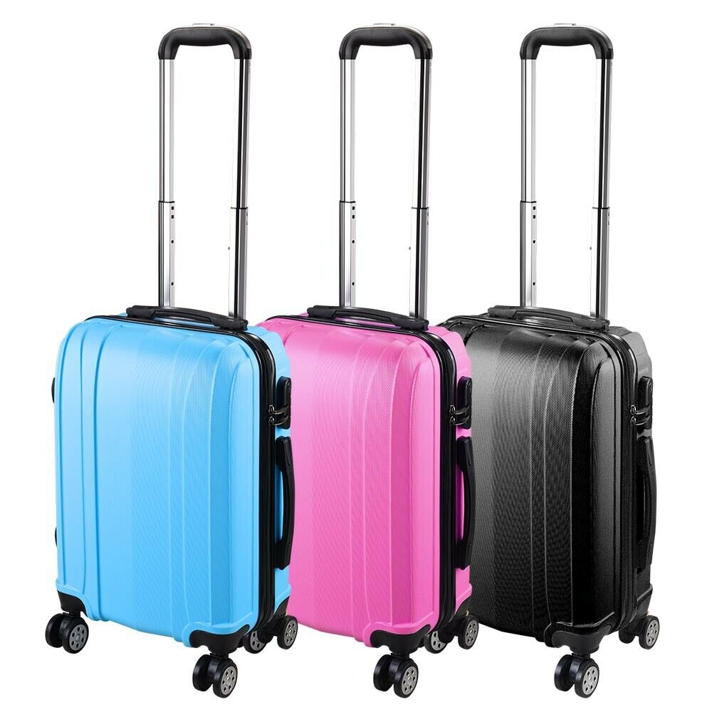 20 Quot Carry On Travel Luggage Bag Trolley Fashion Suitcase