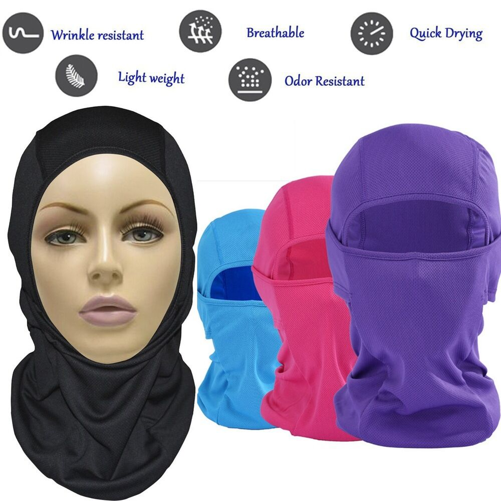 Ski [9in1] Face Mask Motorcycle Running Cycling Balaclava for Cold/Hot Weather | eBay