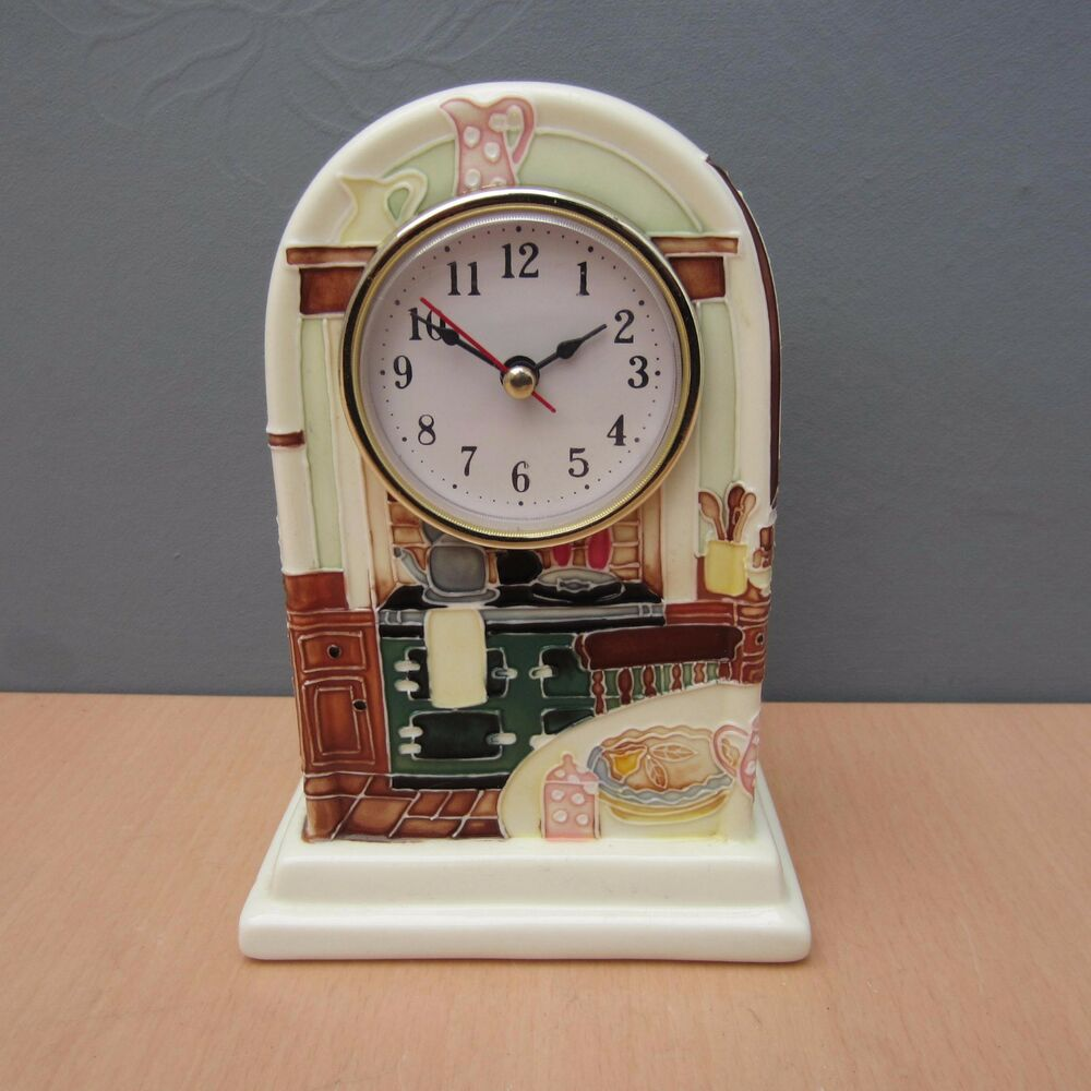 country kitchen clock tupton ware country kitchen china quartz mantle 2759