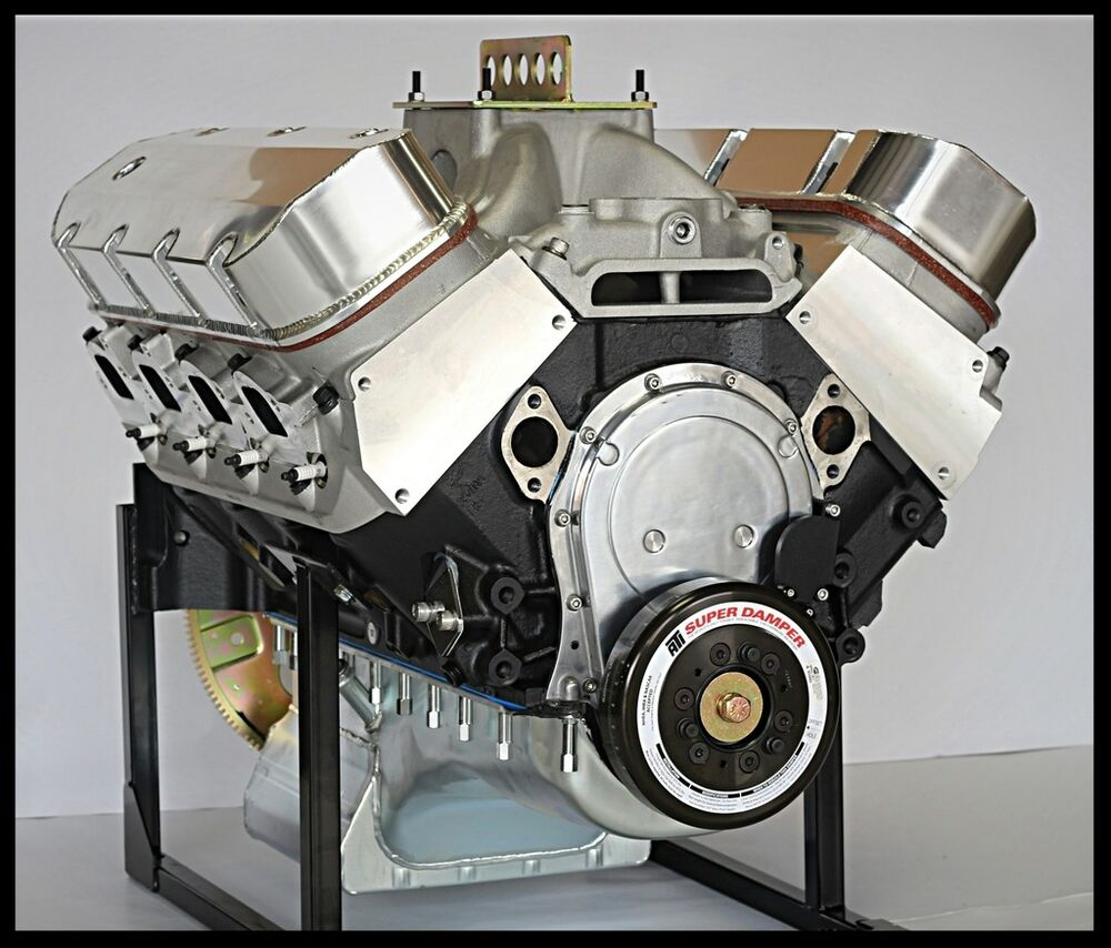 Chevy BBC 632 Stage 10.5 Base Engine, AFR HEADS Merlin IV