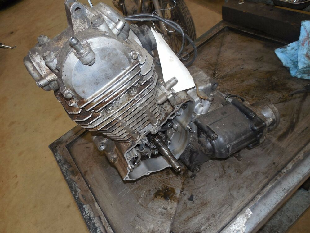 Kawasaki Klf220 Bayou 220 Engine Motor Assembly Not