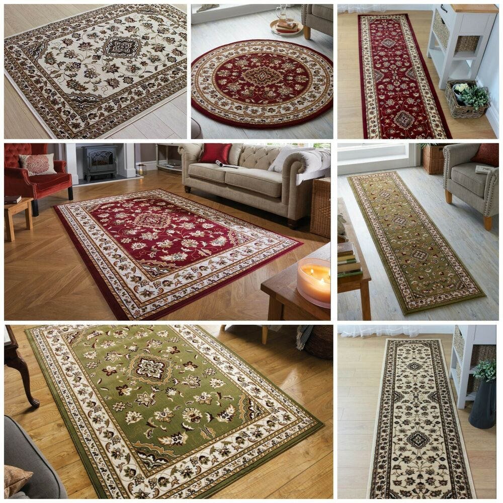Quality Traditional Classic Beige Green Red Grey Black