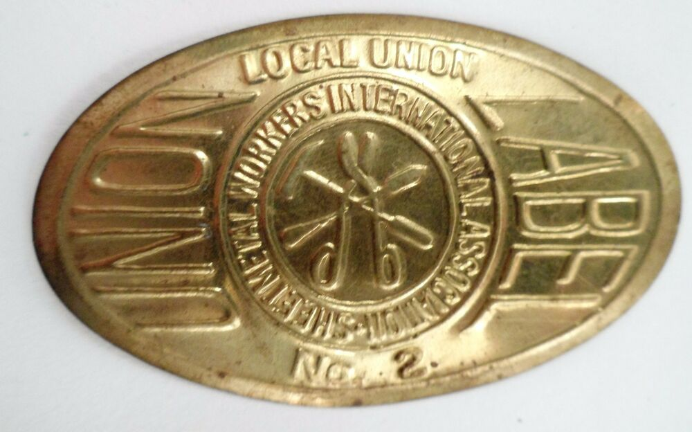 Sheet Metal Workers International Smwia Local 2 Solid Thin