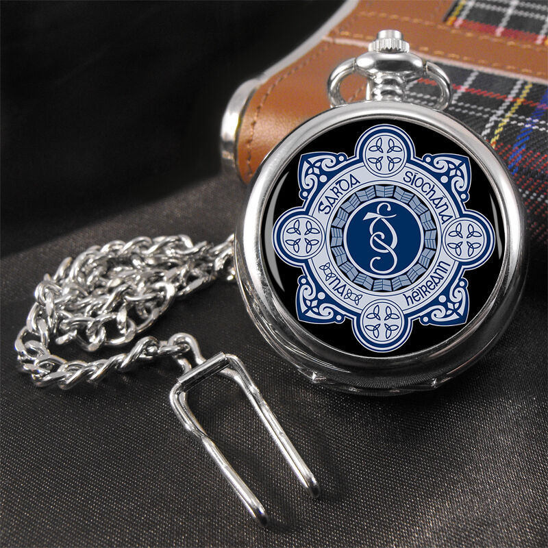 Irish Police: Garda Siochana Irish Police Pocket Watch