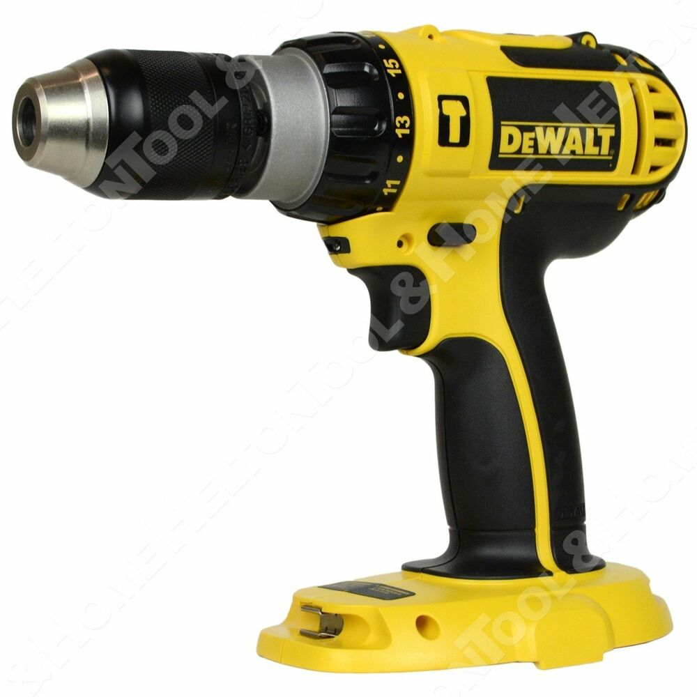new dewalt dc725 18v 1 2 cordless hammer drill driver. Black Bedroom Furniture Sets. Home Design Ideas