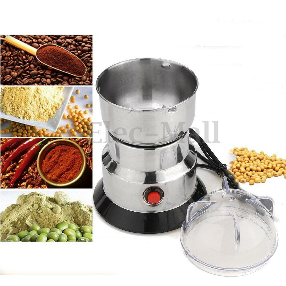 electric coffee spice nuts grinding mill machine bean. Black Bedroom Furniture Sets. Home Design Ideas