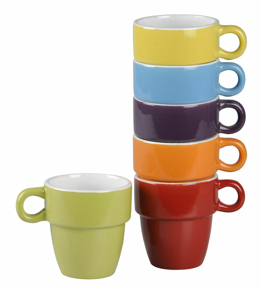 kaffeetasse tasse miri tee kaffee becher teetasse henkel porzellan bunt 200ml ebay. Black Bedroom Furniture Sets. Home Design Ideas