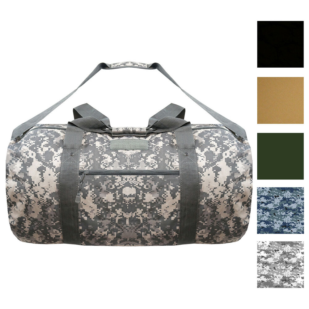 Every Day Carry Tactical Large Heavy Duty Duffle Bag With