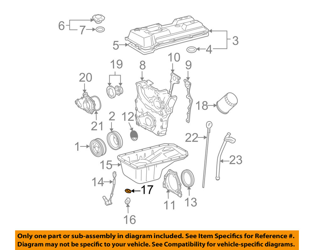 Toyota Oem Engine Parts Drain Plug Gasket 9043012031 760325004441 Ebay Scion Tc Diagram