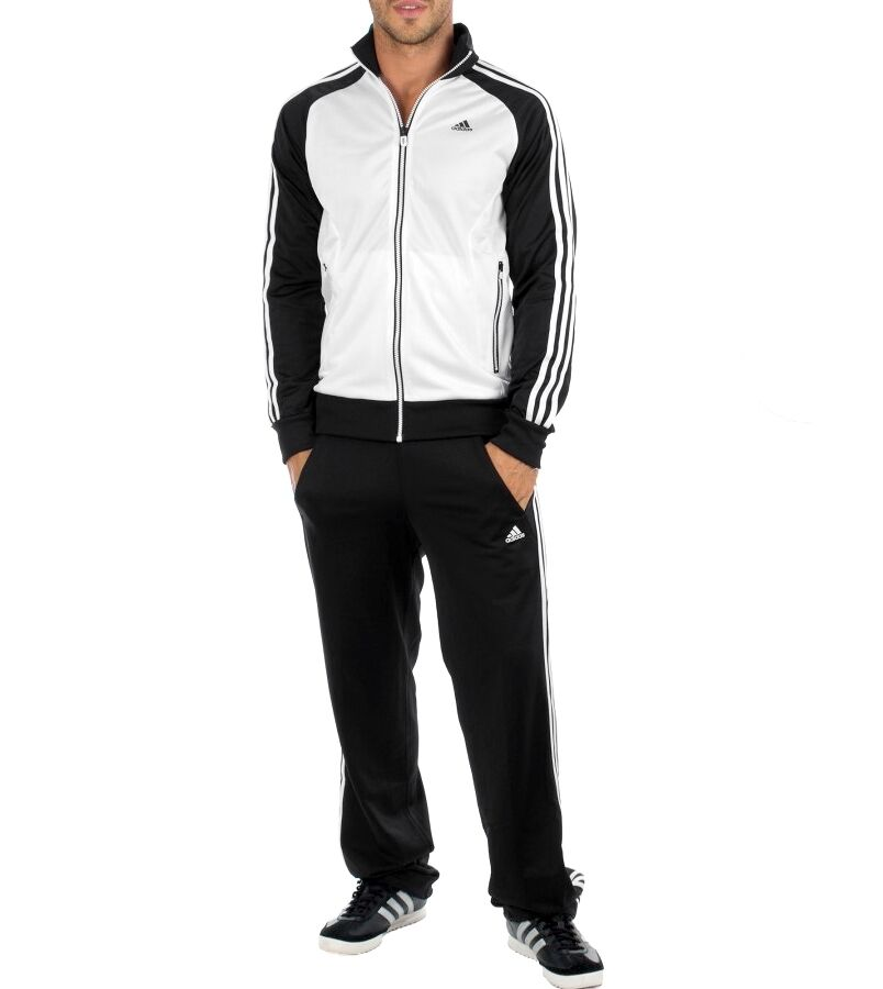 adidas herren trainingsanzug jogginganzug sport anzug 3s. Black Bedroom Furniture Sets. Home Design Ideas