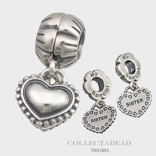 Authentic Pandora Sterling Silver Hanging My Special
