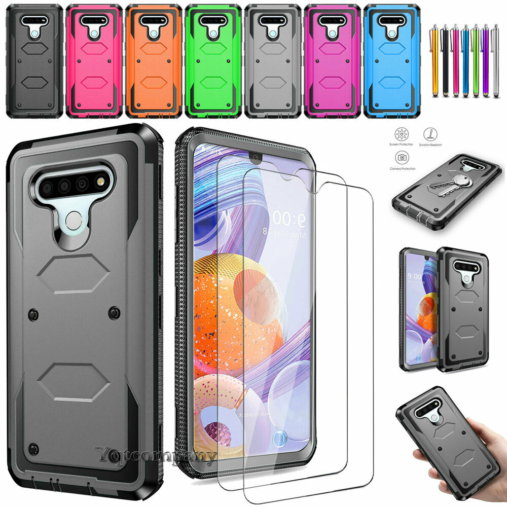 best website f4d43 8a36b LG G Stylo 2 Plus /Stylus 2 /LS775 Armor High Impact Hybrid Phone Case  Cover | eBay