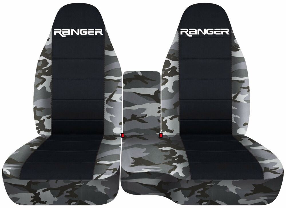 Fits 1998 2003 Ford Ranger 60 40 Camouflage Seat Covers