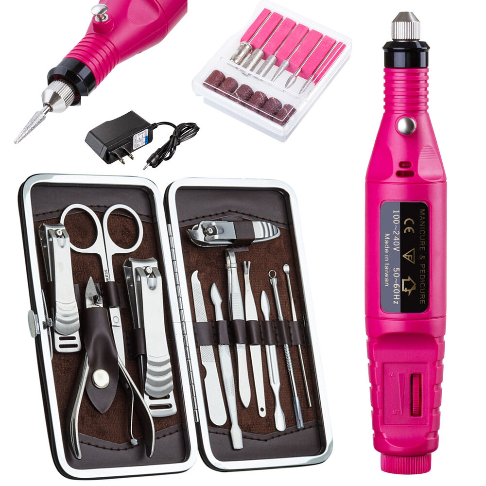 New Professional Electric Nail File Drill Manicure Tool
