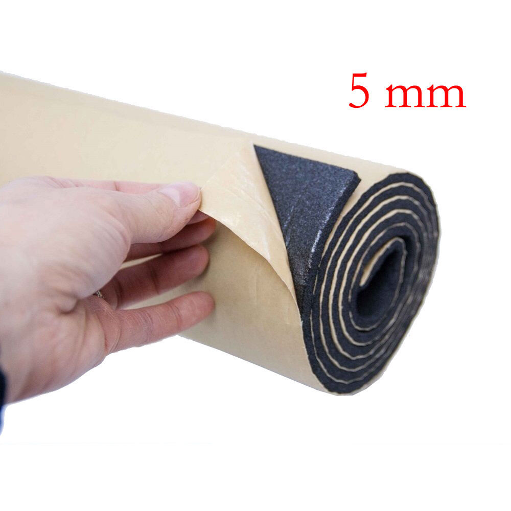 2roll 5mm Car Sound Proofing Deadening Insulation Closed