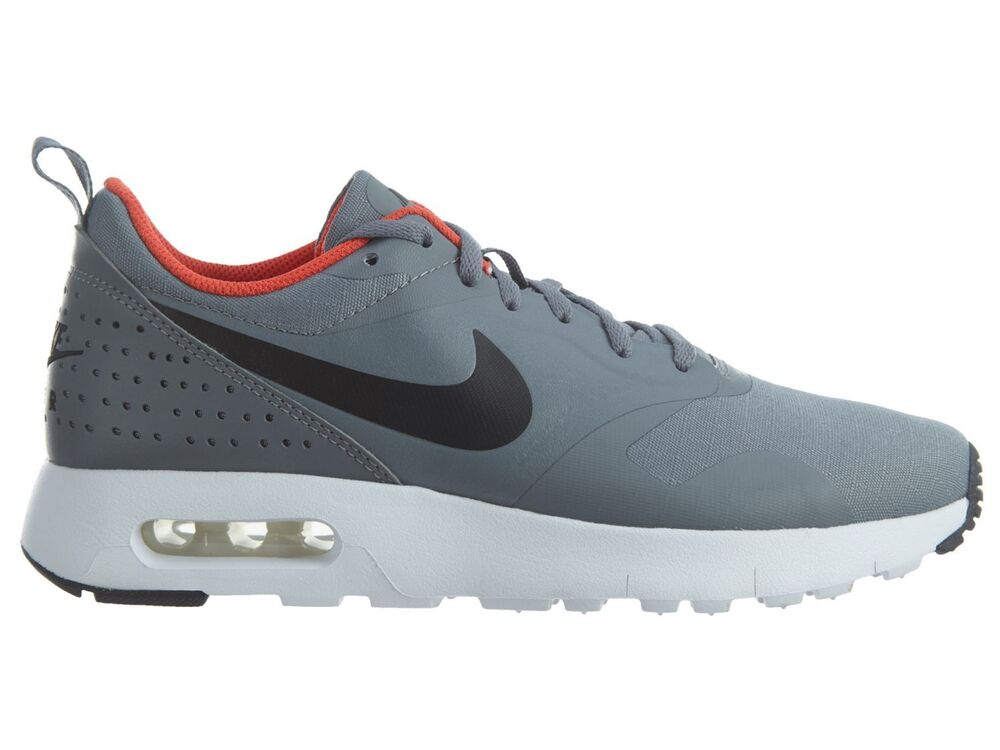6ca9327a18 Details about Nike Air Max Tavas Big Kids 814443-009 Grey Black Athletic  Shoes Youth Size 6.5
