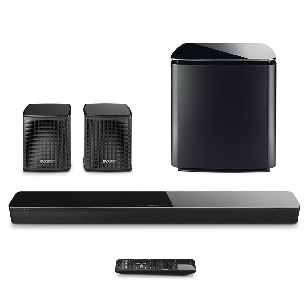 bose soundtouch 300 soundbar w acoustimass sub. Black Bedroom Furniture Sets. Home Design Ideas