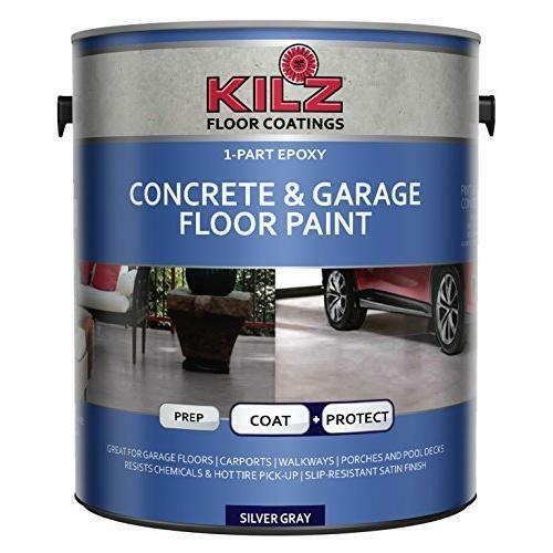 Garage Floors Paint: KILZ 1-Part Epoxy Acrylic Interior/Exterior Concrete