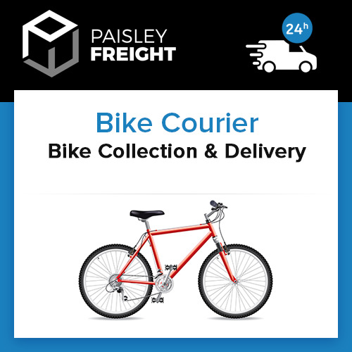 Bike Courier Collection Delivery Service For Mountain Racing