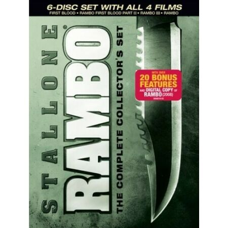 img-Rambo: The Complete Collector's Set [6 Discs] (2008, REGION 1 DVD New)