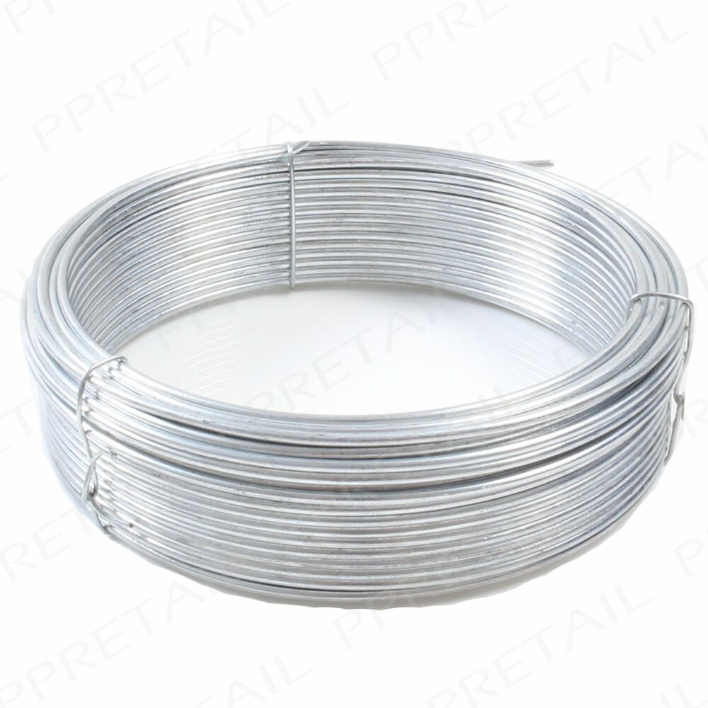 Garden Tie Wire : Mm extra thick heavy duty garden fencing wire cord cut to