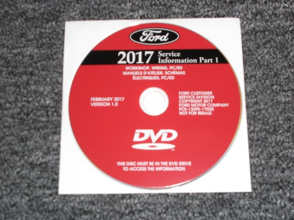 Details About 2017 Ford Fusion Hybrid Energi Service Repair Manual Dvd Anium Sport