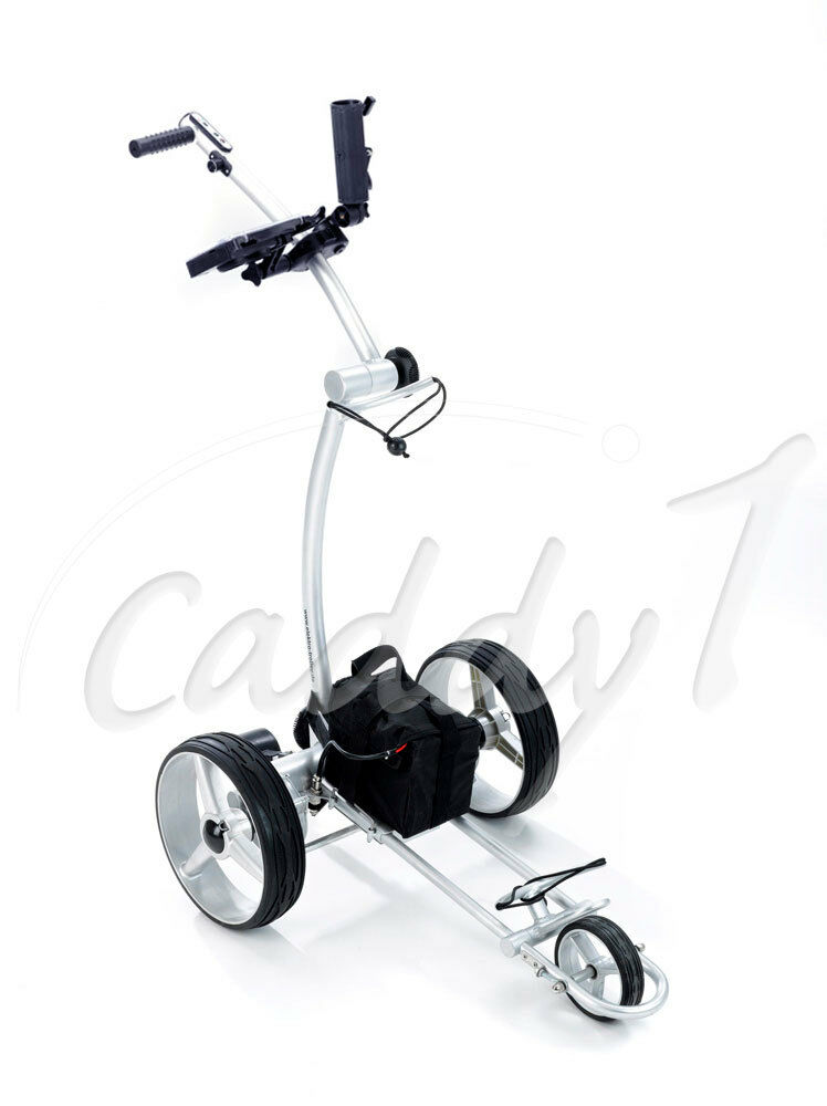 elektro golf trolley caddyone 650 funkfernbedienung ebay. Black Bedroom Furniture Sets. Home Design Ideas