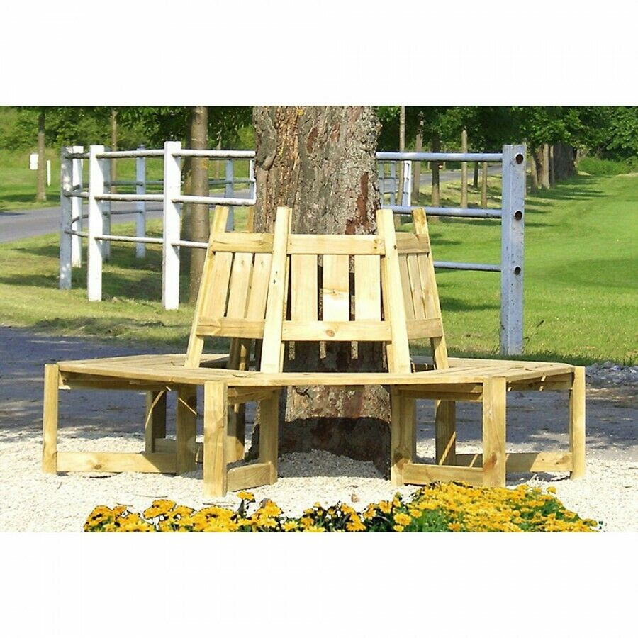 baumbank gartenbank aus holz 195 cm sitzgruppe gartenm bel f r 6 personen ebay. Black Bedroom Furniture Sets. Home Design Ideas