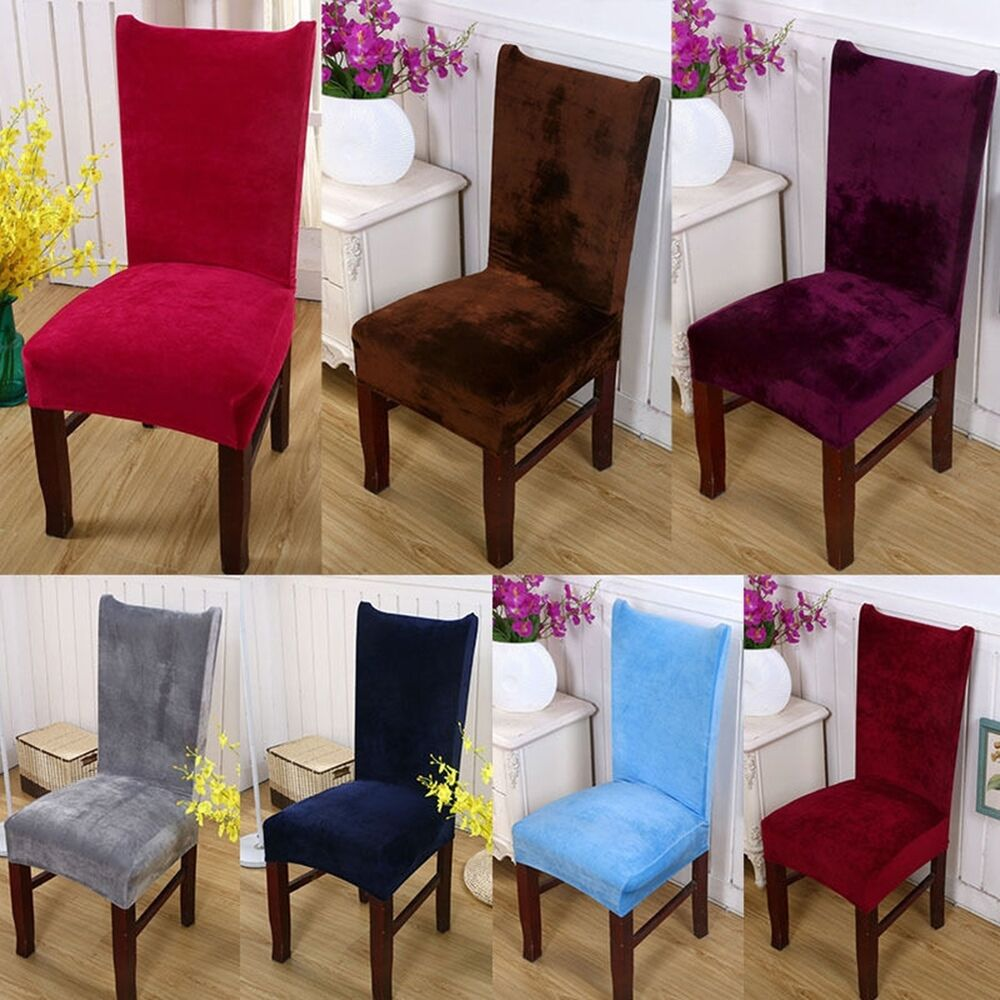 Seat Covers Kitchen Bar Dining Chair Cover Hotel