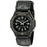 Casio Forester Watch with Analogue Display Black - Brand New!