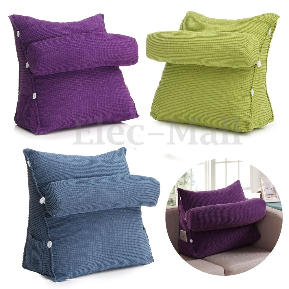 Sofa Bed Office Chair Cushion Adjustable Neck Support Back  : s l1000 from www.ebay.com size 1000 x 1000 jpeg 149kB