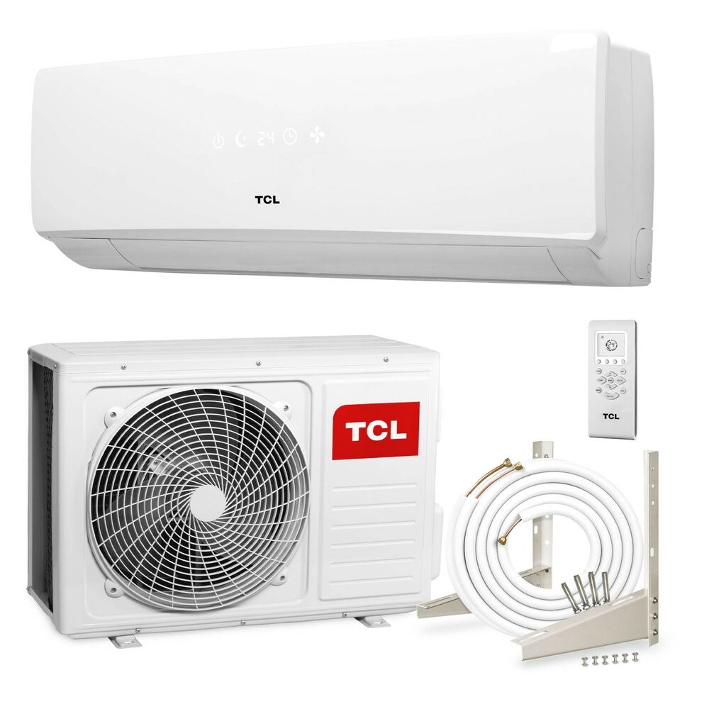 tcl inverter split klimaanlage 24000 btu 6 4kw klima. Black Bedroom Furniture Sets. Home Design Ideas