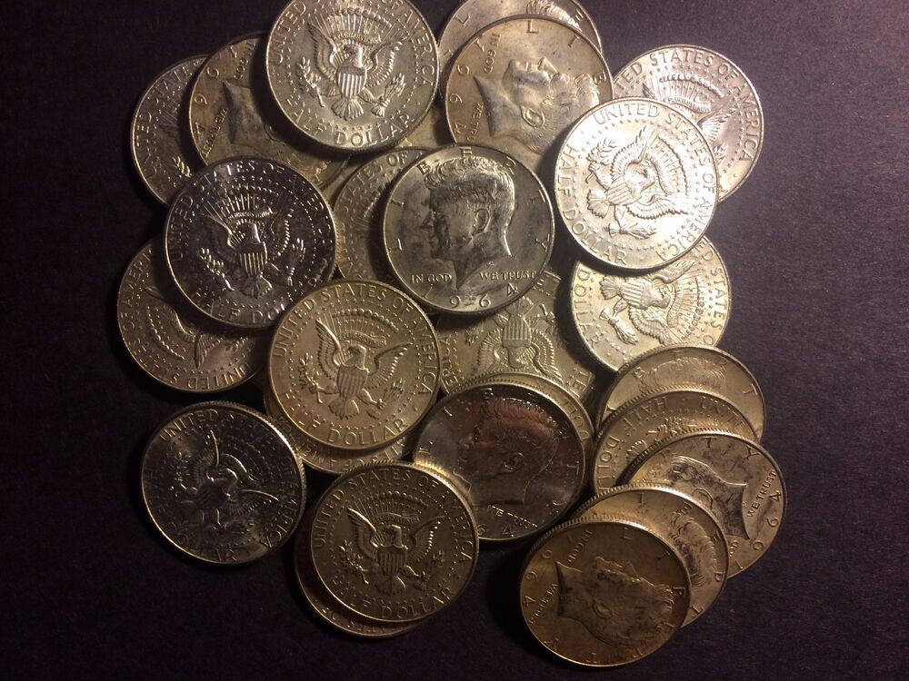 The Kennedy Deal All 90 Lot Old Us Junk Silver Coin 1 2